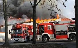 Poważny pożar w centrum Świebodzina
