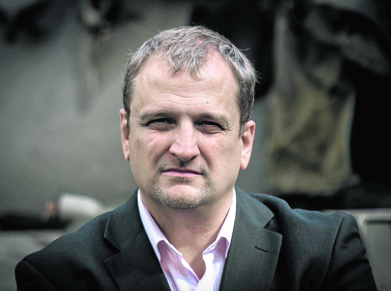 """Nowa książka """"Krüger. Szakal"""" jest już dziewiątą pozycją Marcina Ciszewskiego, a piątą wydaną przez Znak Literanova."""