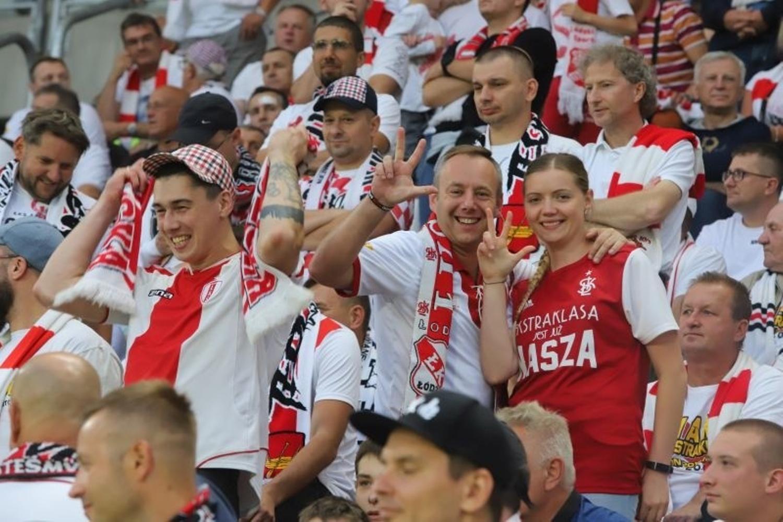 Kibice na meczu ŁKS - Lechia! ZDJĘCIA