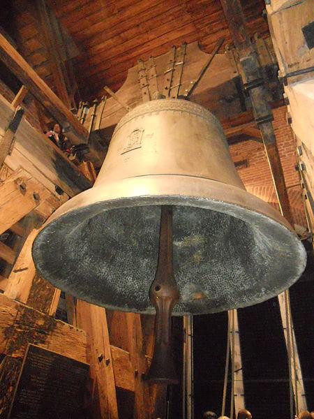 Dzwon Zygmunt na wawelskiej wieży [1]