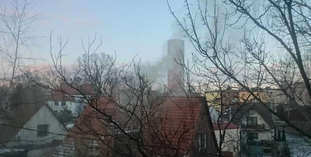 Smog w Oleśnie.