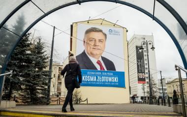 W Bydgoszczy pojawiły się w ostatnich tygodniach banery obecnych europosłów Kosmy Złotowskiego i Tadeusza Zwiefki