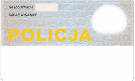 Rewers nowej legitymacji policyjnej