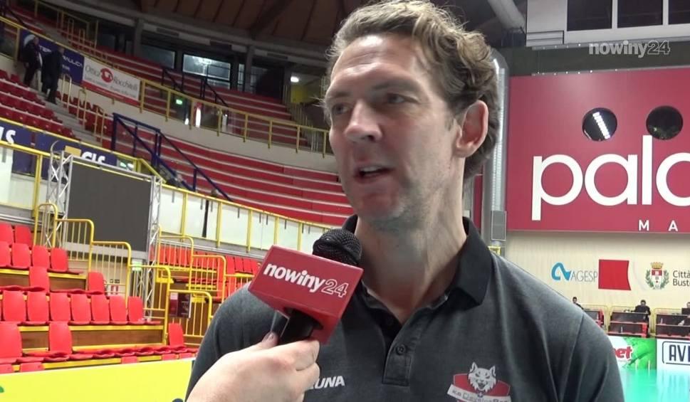 Film do artykułu: Stephane Antiga, trener KS Developres Rzeszów po meczu z Unet e-work Busto Arsizio: Graliśmy dobrze, ale mogliśmy lepiej