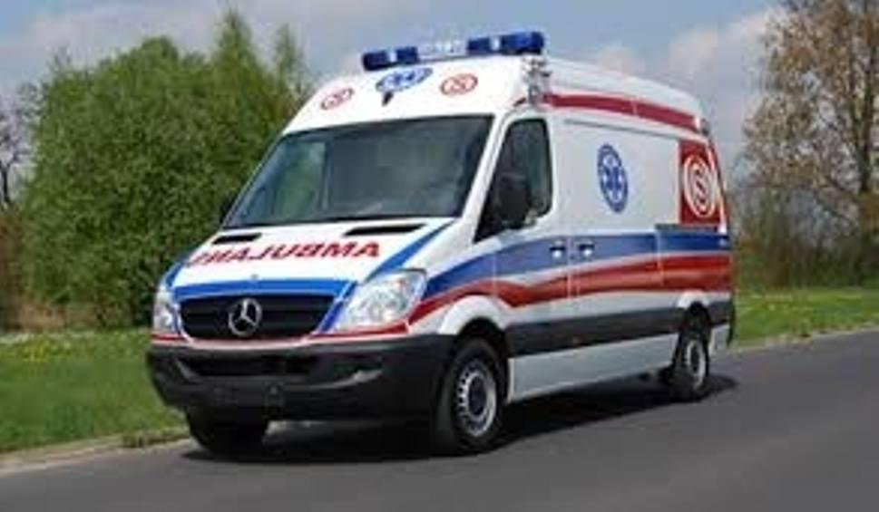 Film do artykułu: Wypadek w Kazimierzy Wielkiej. Ucierpiał motocyklista