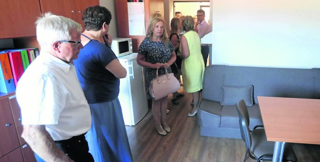 Nowe pomieszczenia internatu w ZSEE są zrobione z dobrej jakości materiałów