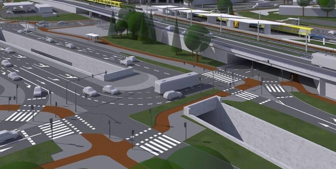 W tym roku ruszyć ma też kolejna wielka inwestycja - przebudowa skrzyżowania ulic Oleskiej, Nysy Łużyckiej, Bohaterów Monte Cassino.
