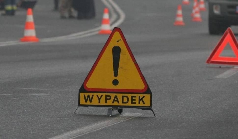 Film do artykułu: Wypadek w Dąbrowie Tarnowskiej. Utrudnienia na DK 73