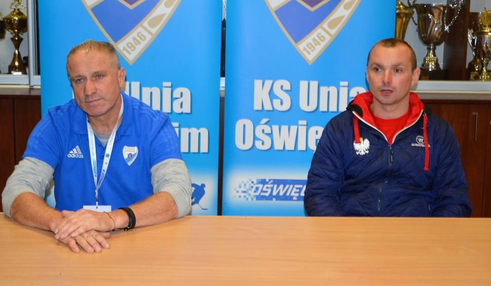 Film do artykułu: Jirzi Szejba (Unia Oświęcim). Mecz przeciwko Kadrze PZHL U23 był testem dla moich zawodników [WIDEO]
