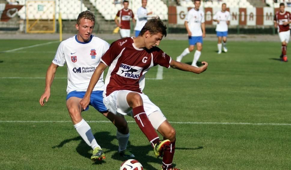 Film do artykułu: Garbarnia na remis z Pogonią w pierwszym meczu barażowym o Nice 1 Ligę