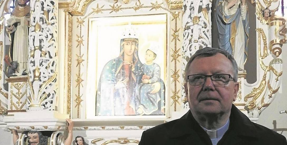 - Do Matki Bożej Pięknej Miłości najczęściej są wznoszone modlitwy o błogosławieństwo Boże i opiekę Matki Boskiej - mówi ks. kan. Marian Mieczkowski
