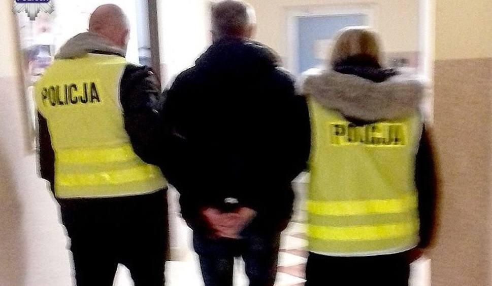 Film do artykułu: Poszukiwany za udział w zorganizowanej grupie przestępczej w rękach policji