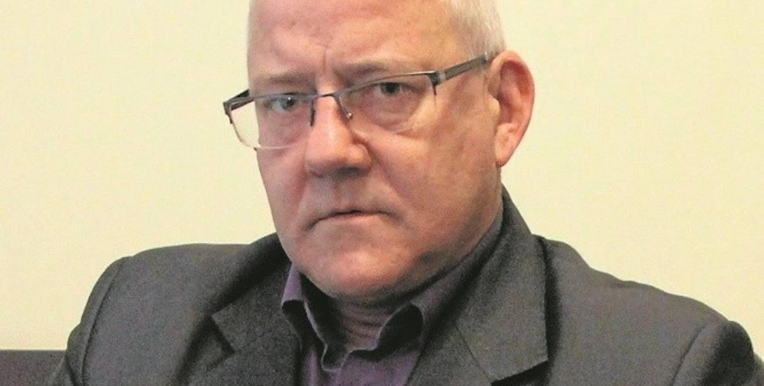 Robert Roj był wójtem Łapanowa w latach 2014-2018. To on  zlecił założenie liczników monitorujących sytuację w zakładzie