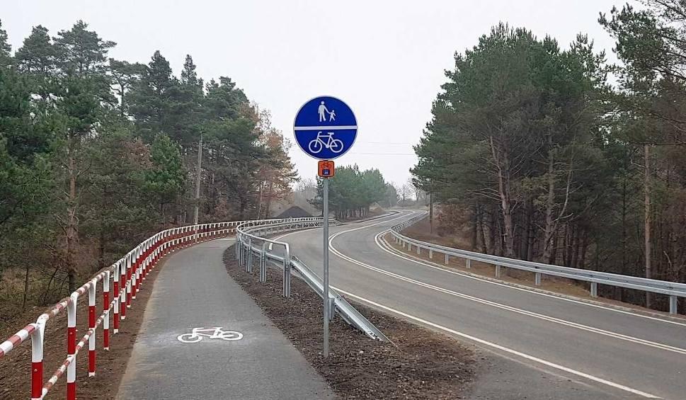 Film do artykułu: Ińsko. Koniec przebudowy trasy Ińsko - Ciemnik. Zobacz zdjęcia z remontu