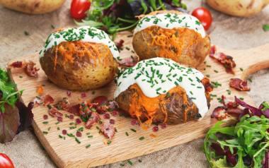 Ziemniaki z grilla.