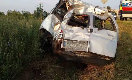 W czwartek około godz. 19 w miejscowości Falborek doszło do zdarzenia drogowego z udziałem samochodem citroen.66-letni kierowca nie dostosował prędkości