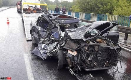 Wypadek na DK 94 w Sosnowcu