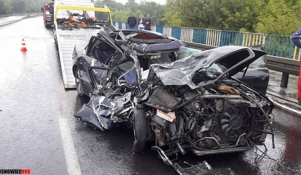 Film do artykułu: Znów wypadek na DK 94 w Sosnowcu