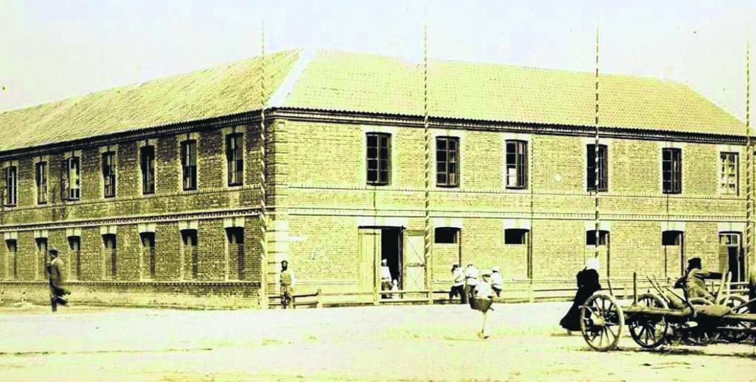 Białystok 1897. Koszary przy ul. Nowoszosowej