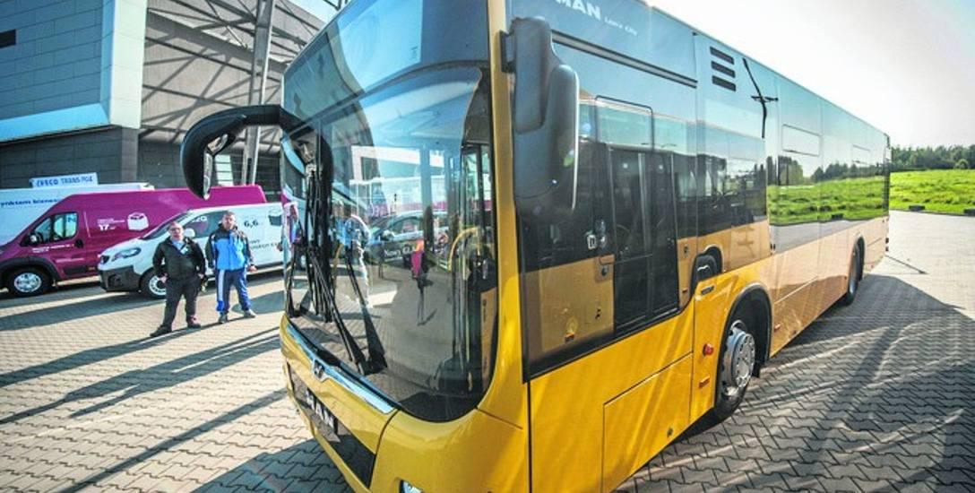 Nowe autobusy można było zobaczyć m.in. podczas targów motoryzacyjnych w miniony weekend w Koszalinie