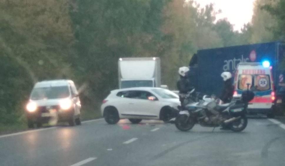 Film do artykułu: Wypadek na ul. Krygiera. Wprowadzono ruch wahadłowy