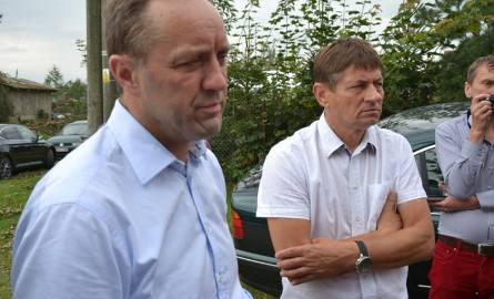 Wizyta marszałka Mieczysława Struka w Rytlu i Lotyniu