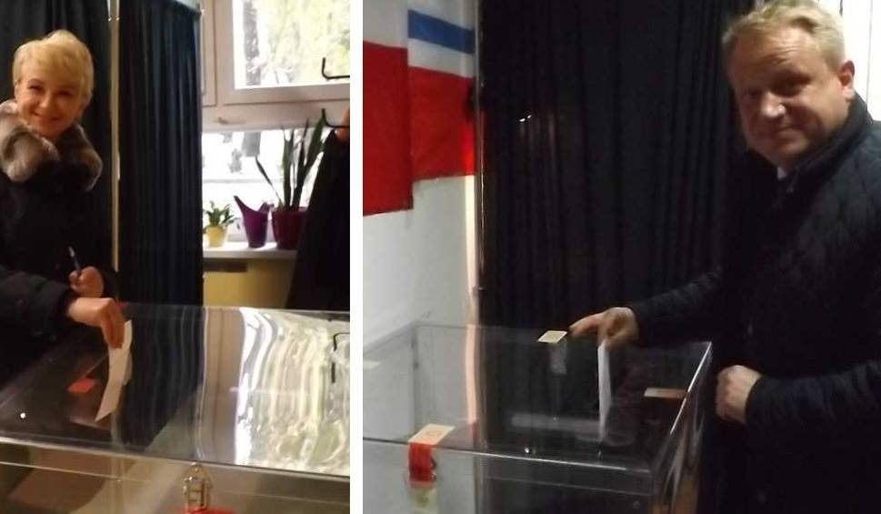 Film do artykułu: Wybory samorządowe 2018. Kołobrzescy kandydaci na prezydenta miasta już zagłosowali