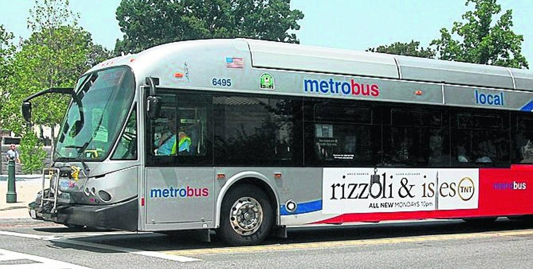 Metrobus zamiast pociągu na trasie Szczecin-Police? To propozycja czytelnika, znana chociażby z Waszyngtonu (na zdjęciu)
