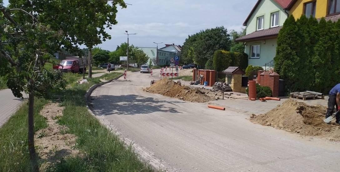 Utrudnienia na ulicy Sobieskiego potrwają do października