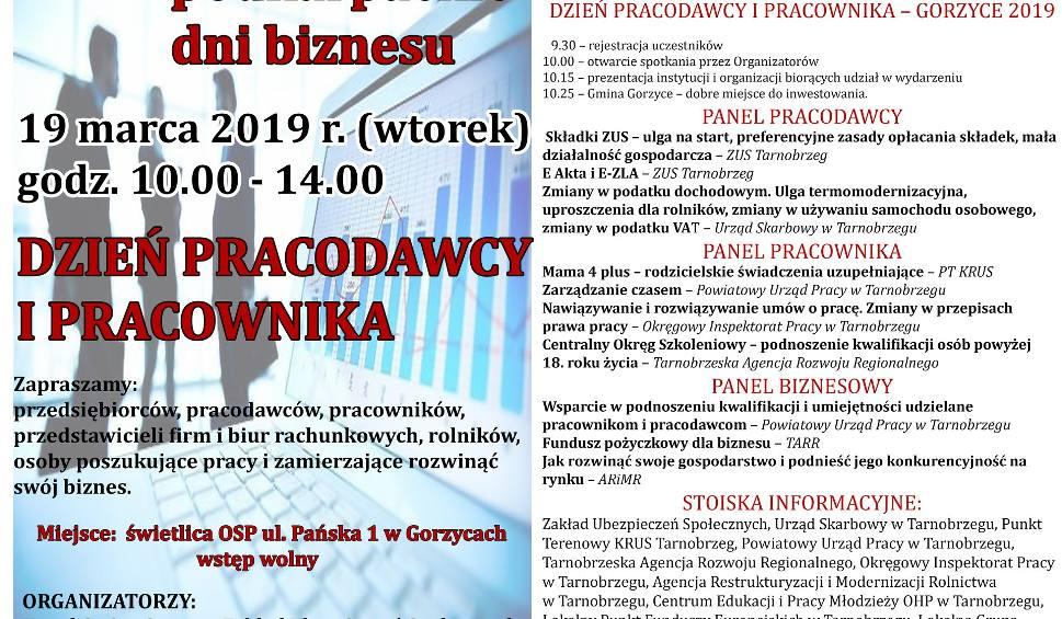 Film do artykułu: Dzień Pracodawcy i Pracownika 19 marca w Gorzycach