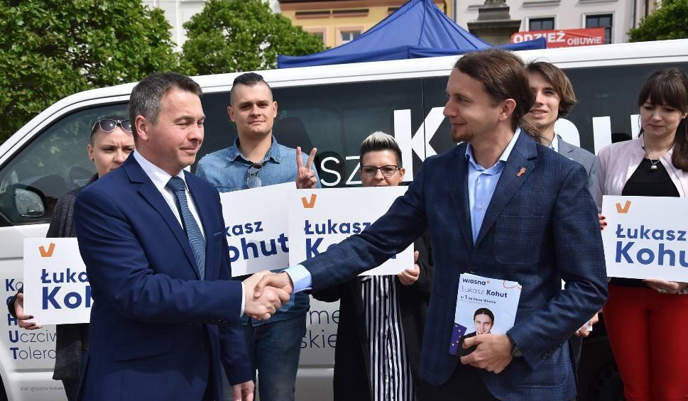 Film do artykułu: Śląska Partia Regionalna poparła Łukasza Kohuta i Marka Plurę w wyborach do Parlamentu Europejskiego WIDEO