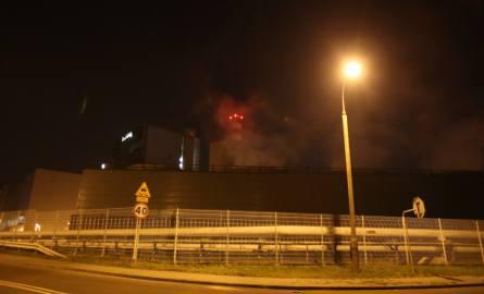 W elektrociepłowni Chorzów ELCHO z pieca wysypało się kilkadziesiąt ton gorącego popiołu