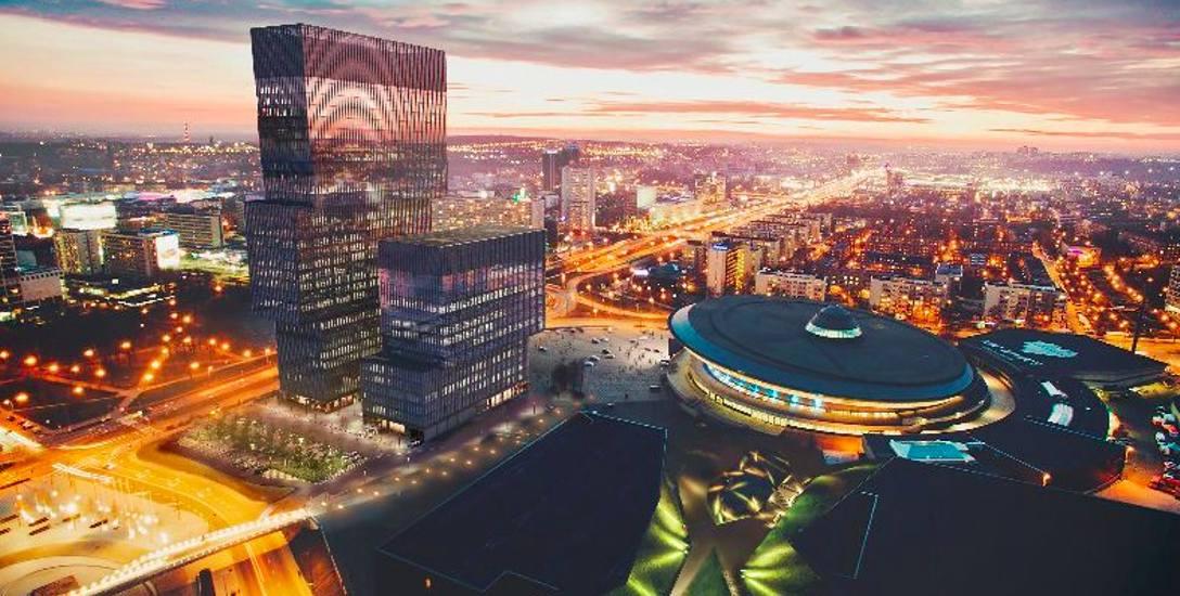 Fujitsu zatrudni 200 osób do biura w .KTW koło Spodka. Co z drugą wieżą?