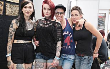 Kraków. Kobiece ciała pokryte tatuażami [ZDJĘCIA]