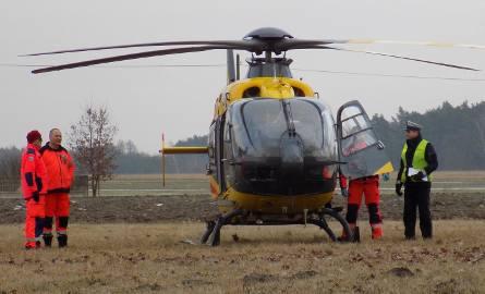Wypadek w Jastrzębcu pod Aleksandrowem Łódzkim. 5 osób rannych