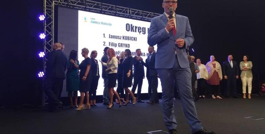 Konwencja wyborcza prezydenta Janusza Kubickiego odbyła się zielonogórskim Planetarium