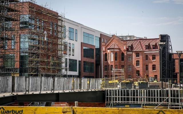 7fe2f5486d83c Prace wykończeniowe na budowie Forum Gdańsk [zdjęcia]