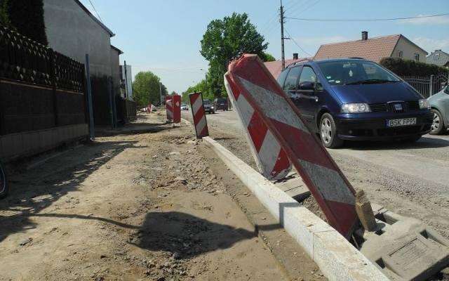 658e81bdc0d499 Ul. Białostocka: Budowa ronda i remont ulicy mają usprawnić jazdę (zdjęcia,  wideo)
