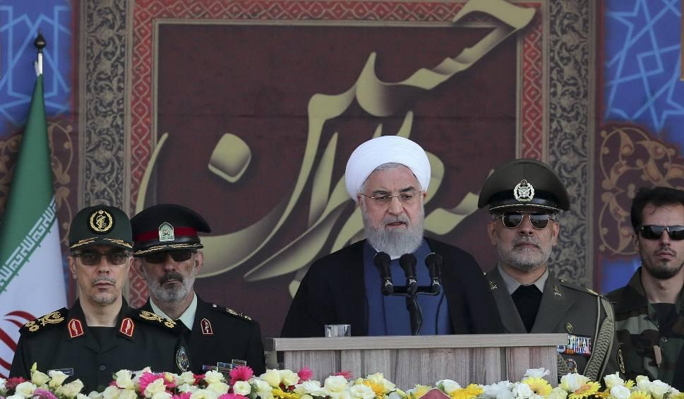 Film do artykułu: Iran ostrzega USA: Trzymajcie się z daleka od Zatoki Perskiej