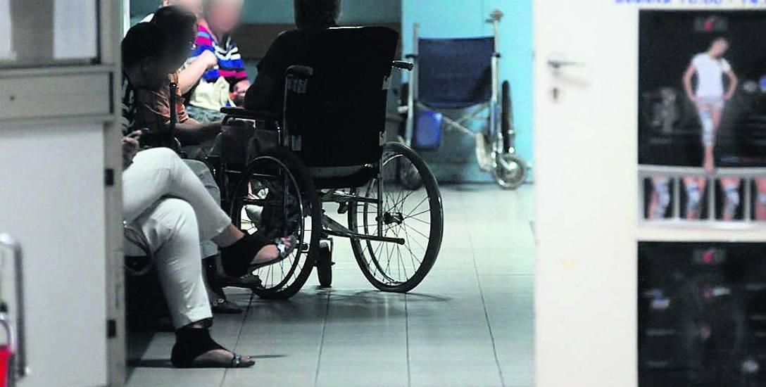W zielonogórskim szpitalu działa centrum urazowe, stąd więcej tu pacjentów tzw. ostrych