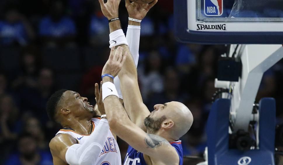Film do artykułu: NBA. Los Angeles Clippers przegrali z Oklahoma City Thunder. Marcin Gortat nie zachwycił