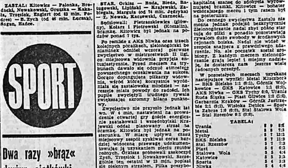 Film do artykułu: Historia. Zielonogórski futbol przed laty nie wykorzystał szansy