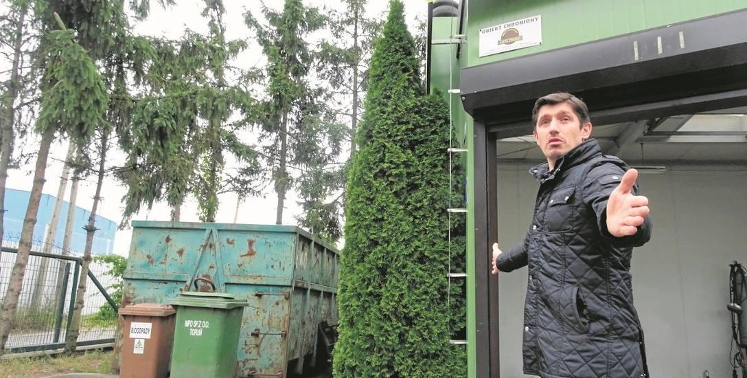 Prus: - Nie pozostawiono mi ani centymetra miejsca na odpady, a nawet na bramę przesuwną.