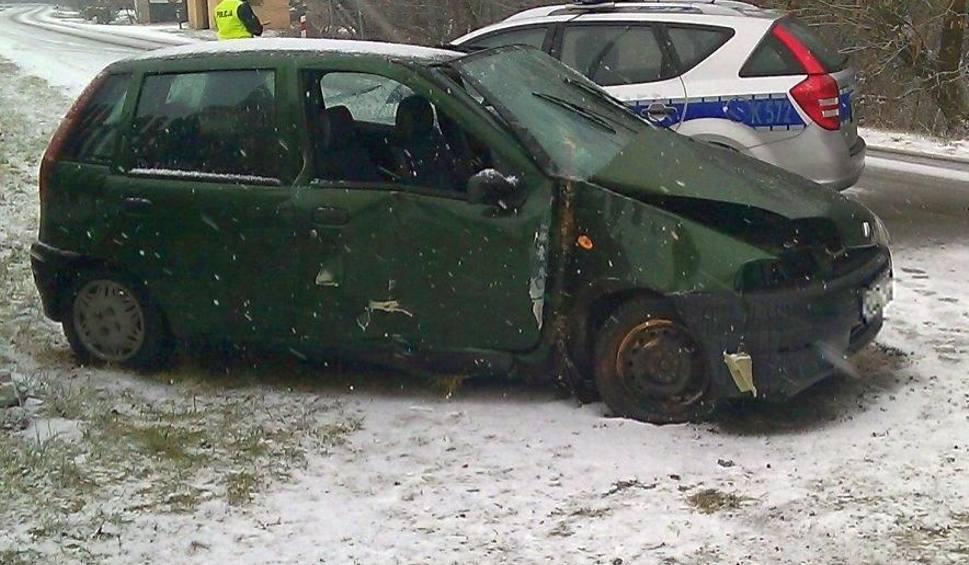 Film do artykułu: Wypadek w Antoniowie. Fiatem w ogrodzenie cmentarza