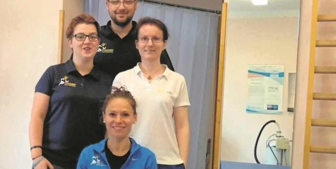 Zespół terapeutów Ośrodka Dziennego Rehabilitacji POLIMED