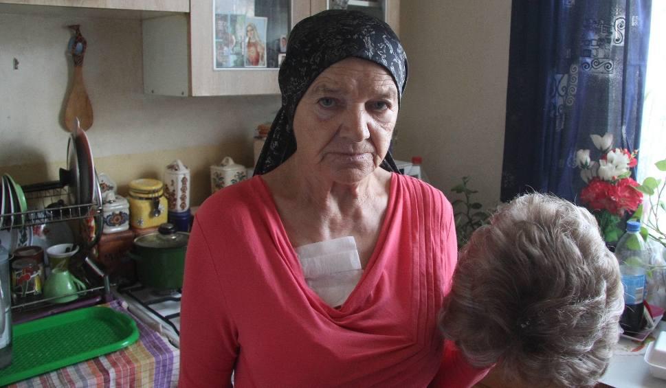Film do artykułu: Pani Danuta z Kielc walczy z rakiem. Nie ma z czego żyć. Pomóżmy