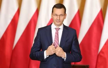 Minister finansów Mateusz Morawiecki