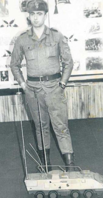 Ryszard Ruszel w gorącym czasie stanu wojennego nosił żołnierski mundur. - Na niejedno przymykaliśmy oczy - mówi