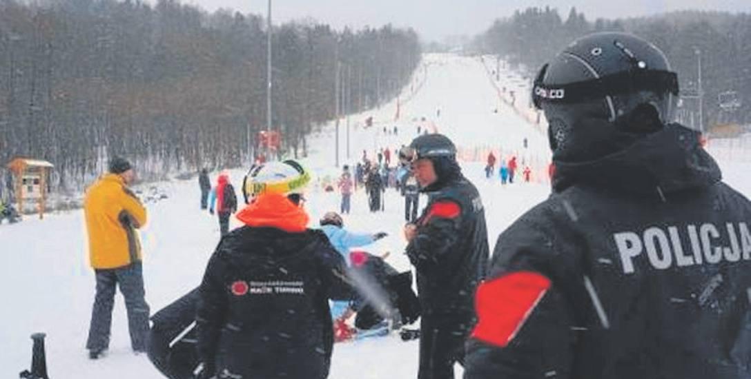 W tym sezonie zimowym na beskidzkich stokach pełni służbę 50 policjantów z garnizonu śląskiego