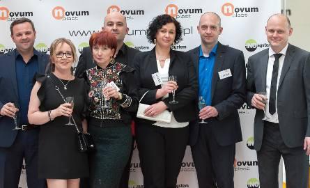 Przedstawiciele firmy Hasco i właściciele firmy Novumplast: Andres Fragoso-Bote, Katarzyna Piesik, Joanna Gano-Klaczyńska, Piotr Klaczyński, Agnieszka